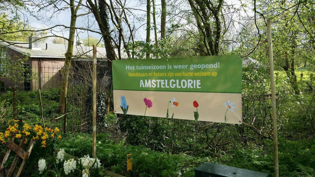 Amstelglorie - fietsers en wandelaars welkom