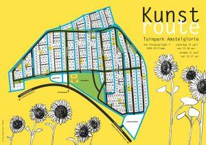 Amstelglorie Kunstroute-flyer
