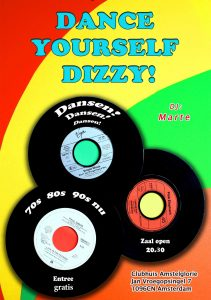 Dance yourself dizzy poster