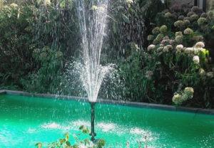 Amstelglorie fontein bij de ingang