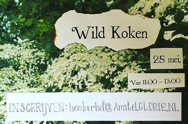 wildkoken op Amstelglorie
