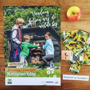 Aankondiging Natuurwerkdag Hemkerhof op Amstelglorie