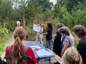 Ontwerpen van een lemen leslokaal op Amstelglorie