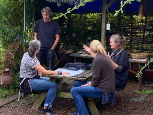 Ontwerpen van een lemen, levend huis op Amstelglorie