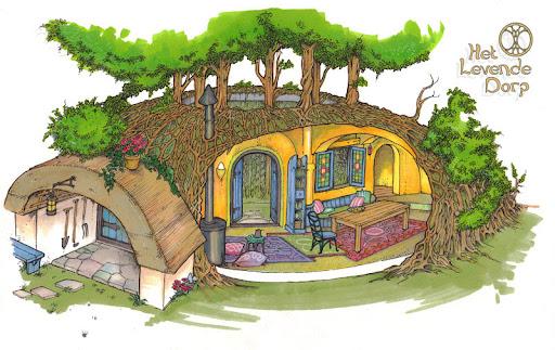 Levend Huis - bouwplan op Amstelglorie